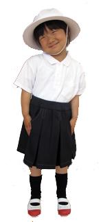 山口県防府市の幼稚園 玉祖幼稚園(たまのやようちえん)制服紹介 夏